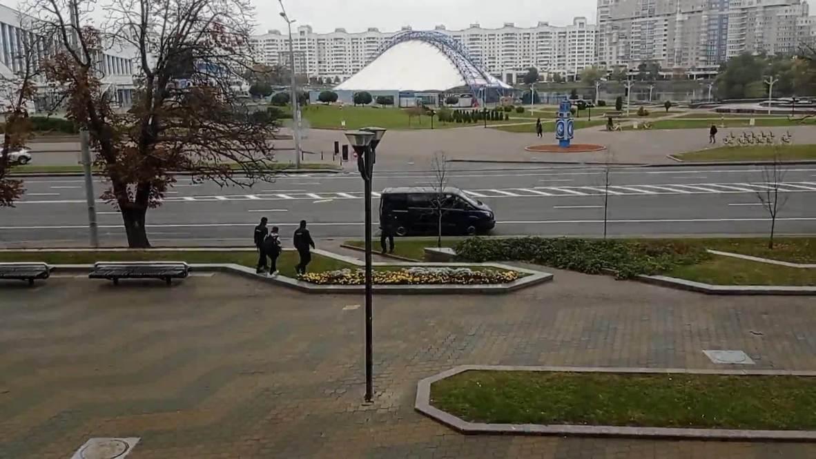 """Белоруссия: В Минске задержали журналистов во время """"Марша гордости"""""""