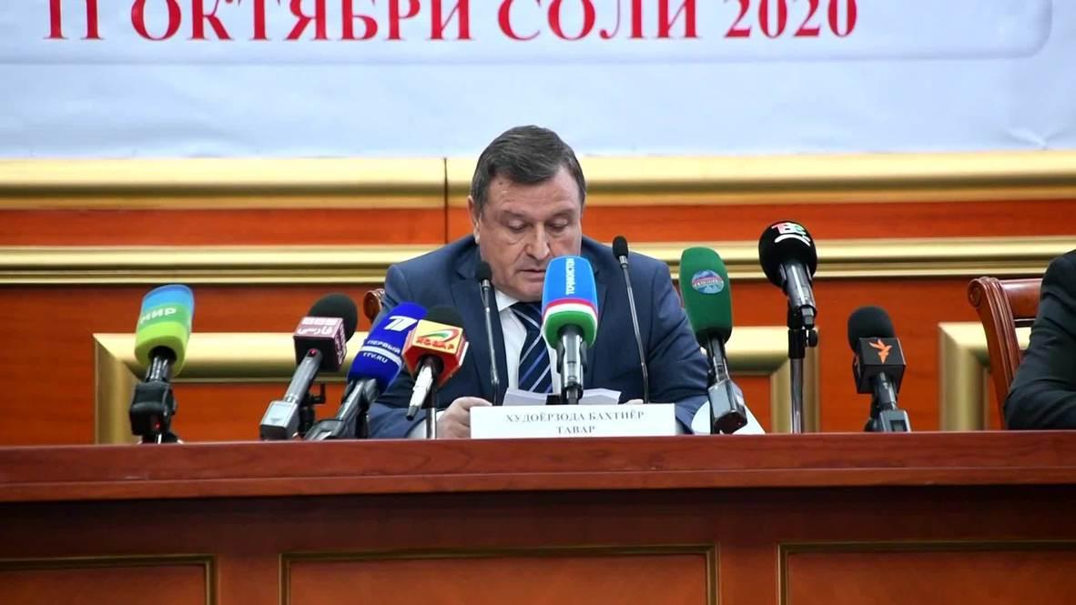 طاجيكستان: إعادة انتخاب الرئيس الحالي رحمون لولاية رئاسية خامسة بأغلبية ساحقة
