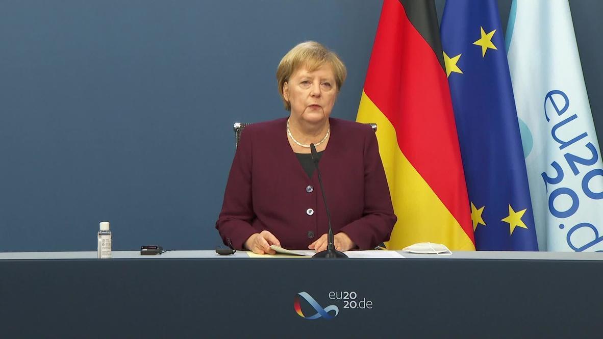 """بلجيكا: ميركل تفضل التوصل لاتفاق مع المملكة المتحدة حول """"بريكست"""""""