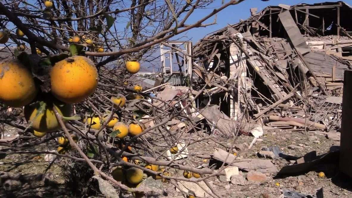 Nagorno-Karabakh: Three injured in night shelling of Stepanakert - NKR ombudsman