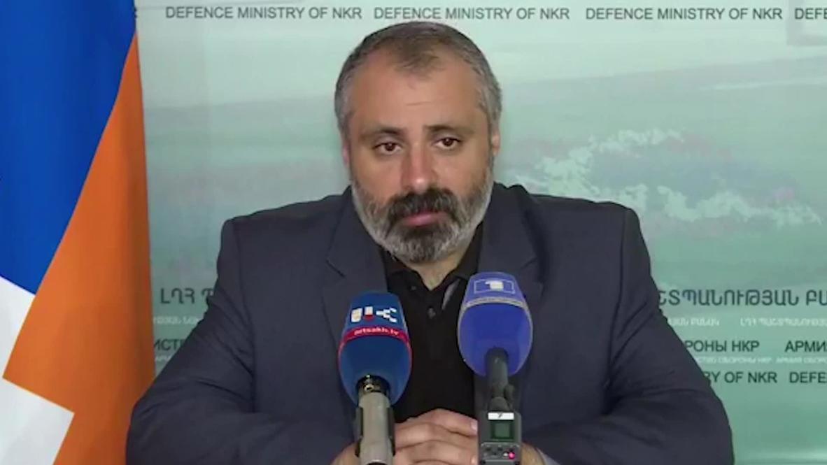 Nagorno-Karabakh: NKR president advisor accuses  Azerbaijan of violating humanitarian truce