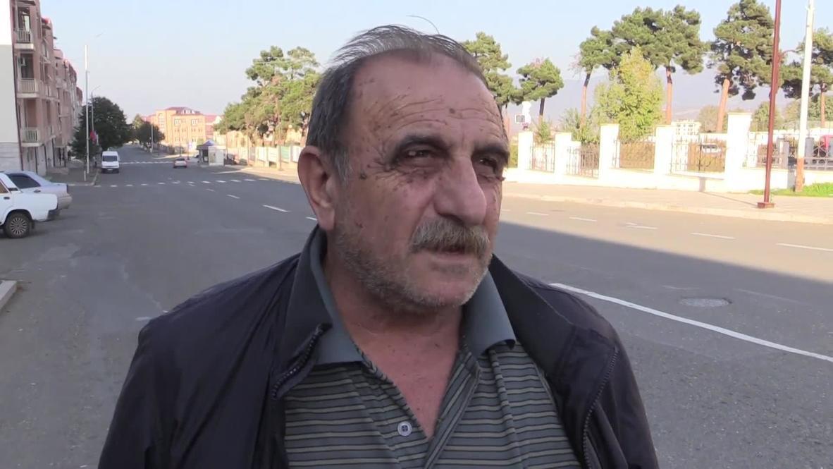 Nagorno-Karabakh: Stepanakert residents discuss new 'humanitarian truce'
