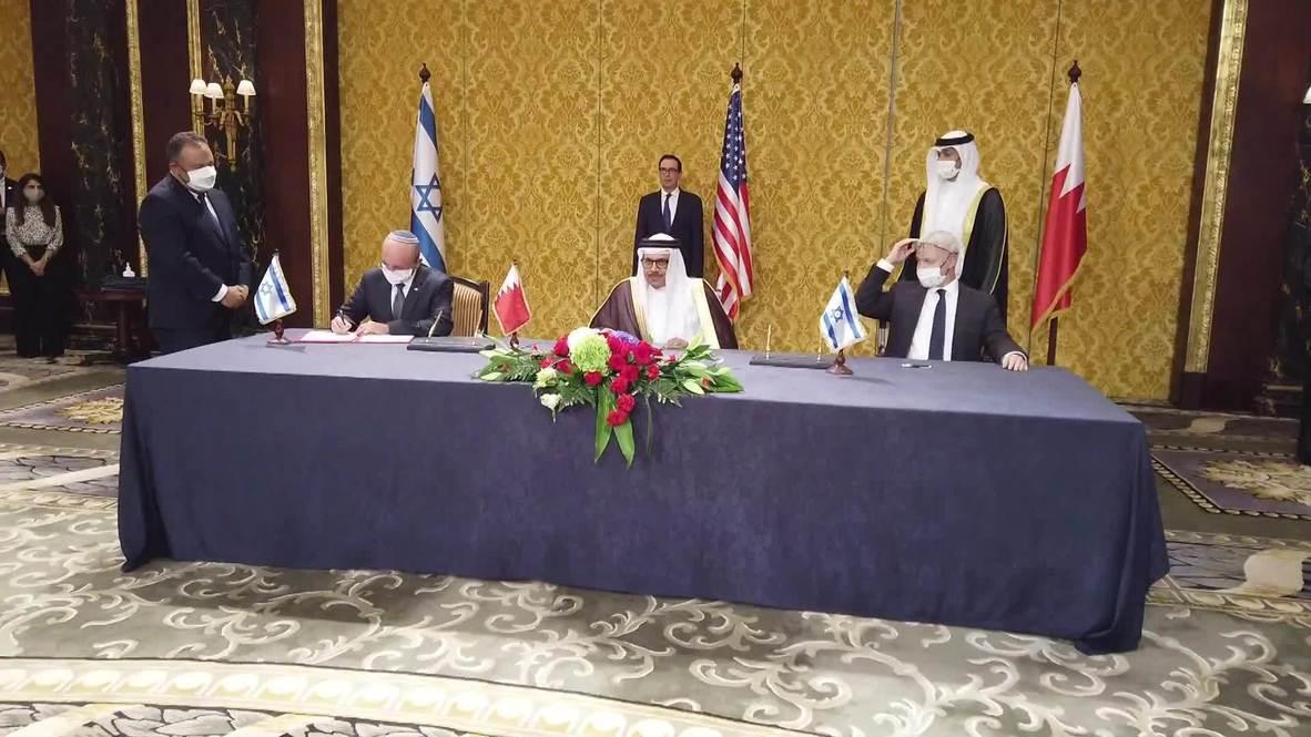 Bahrain: Israel and Bahrain sign historic bilateral agreements in Manama