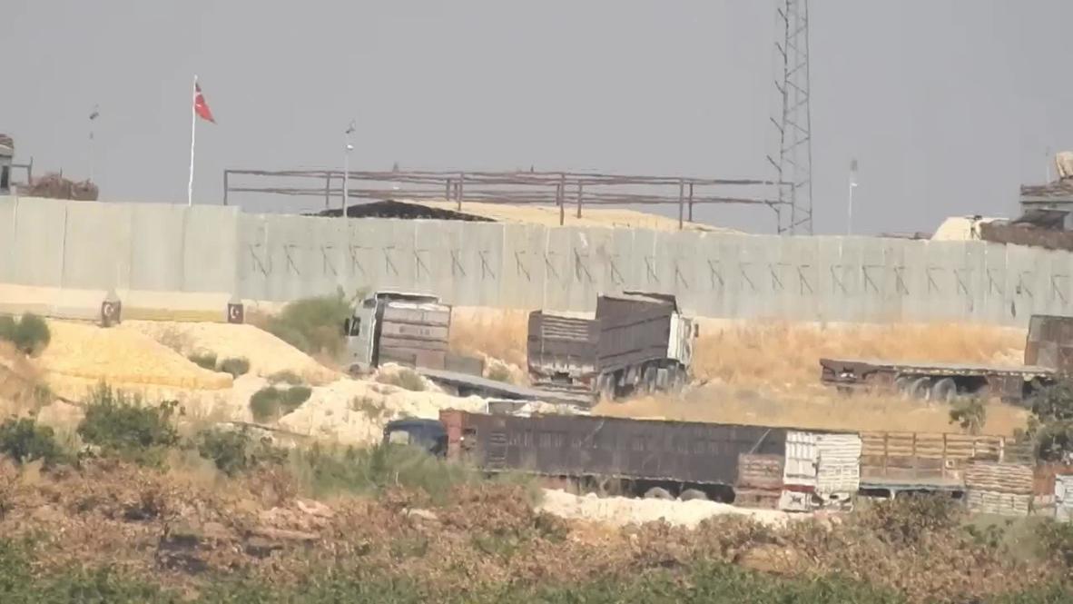 سوريا: لقطات لأعمال جارية في أكبر نقطة مراقبة تركية في ريف حماة وسط تقارير عن الاستعداد لإخلائها