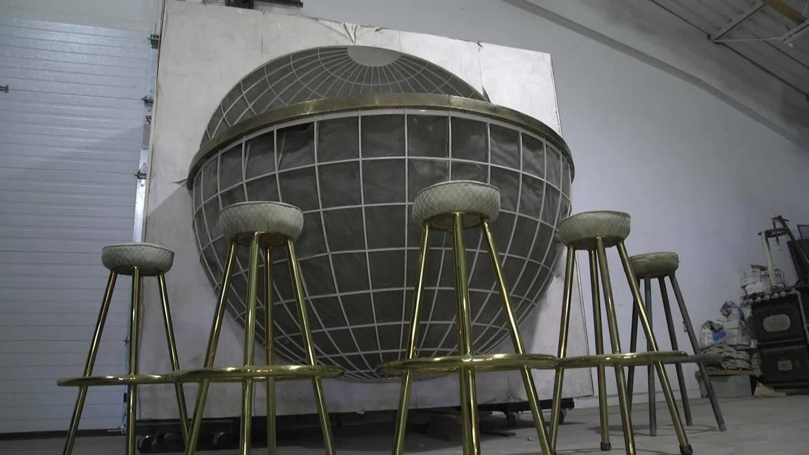 الولايات المتحدة الأمريكية: عرض حانة على شكل كرة أرضية تعود ليخت امتلكه هتلر للبيع في مزاد علني بولاية ميريلاند