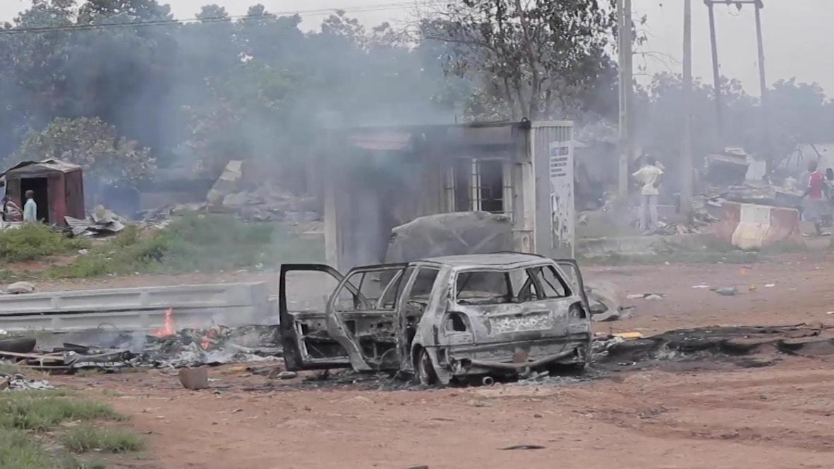 نيجيريا: مقتل ثلاثة أشخاص خلال احتجاجات في أبوجا مع انطلاق العملية العسكرية *محتوى قاس*