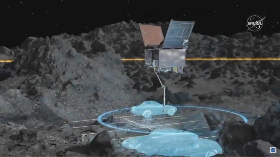 الولايات المتحدة الأمريكية: مركبة ناسا الفضائية تحط على سطح كويكب في عملية تاريخية