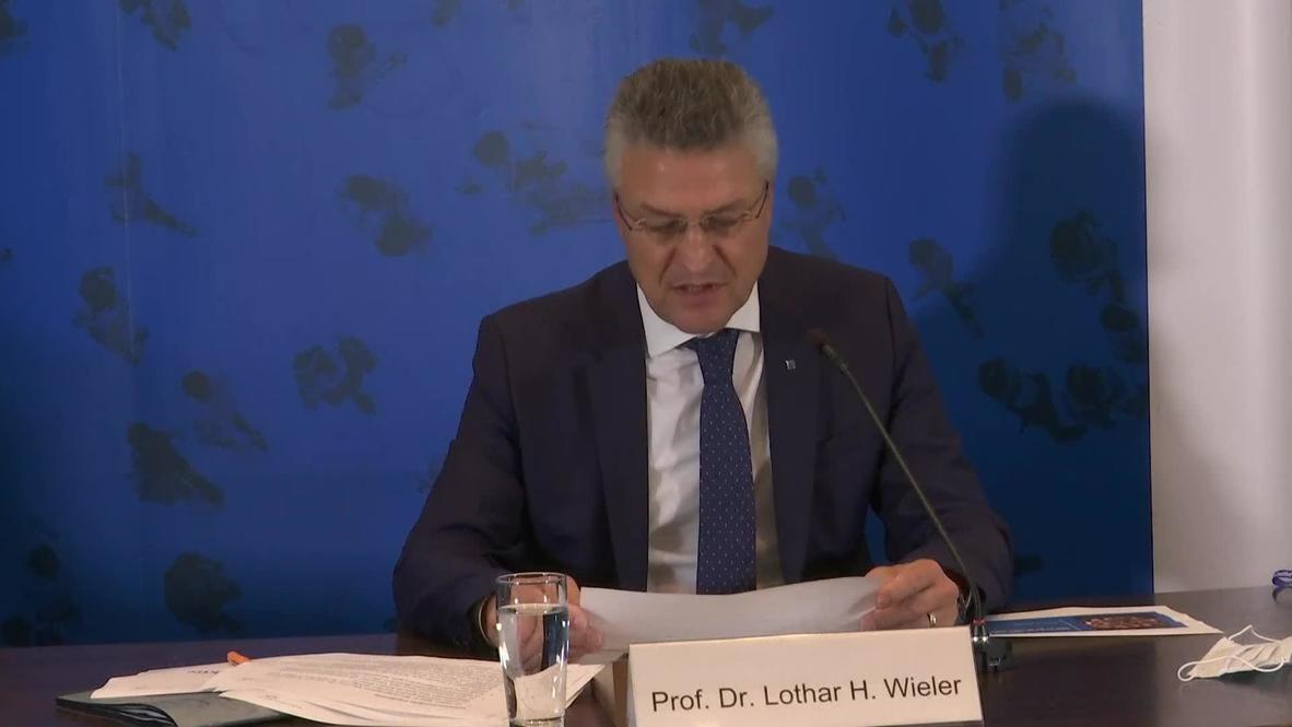 """Alemania: El concepto de inmunidad de rebaño del covid """"ha fracasado"""" - Jefe del Instituto Robert Koch"""
