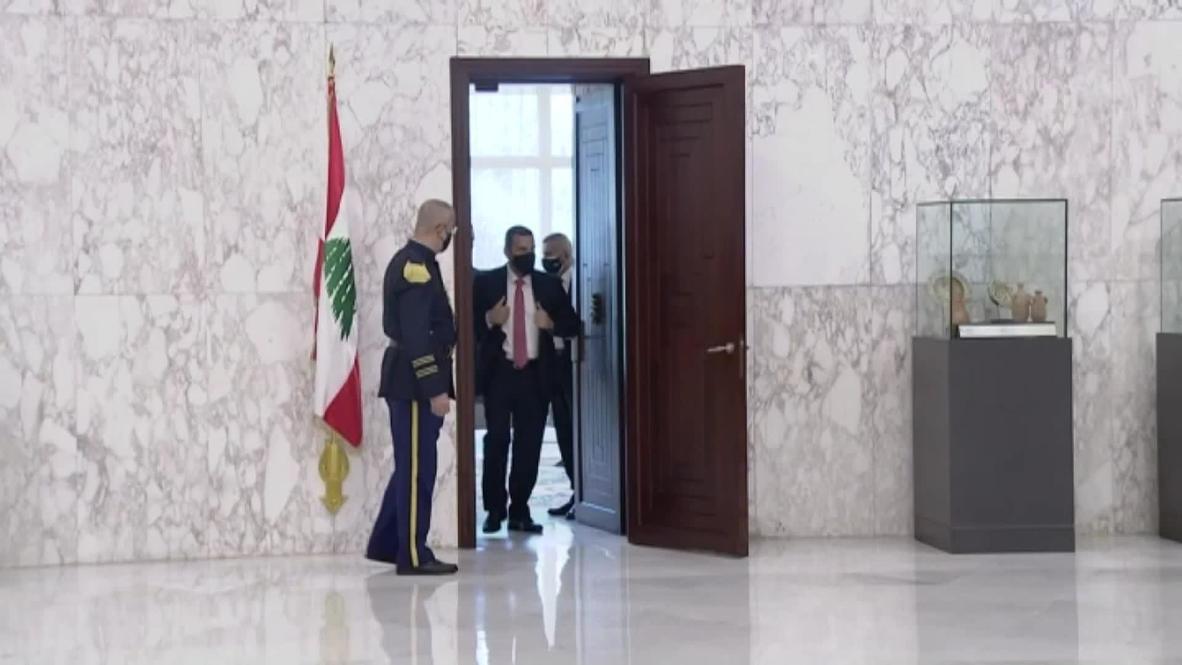 لبنان: الحريري يتعهد بوقف الانهيار في لبنان وبتطبيق بنود المبادرة الفرنسية