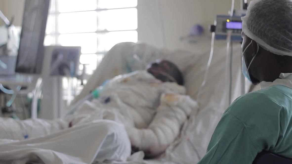 نيجيريا: تماثُل مصابي أحداث العنف في احتجاجات أبوجا للشفاء في المستشفى الوطني *محتوى قاسٍ*