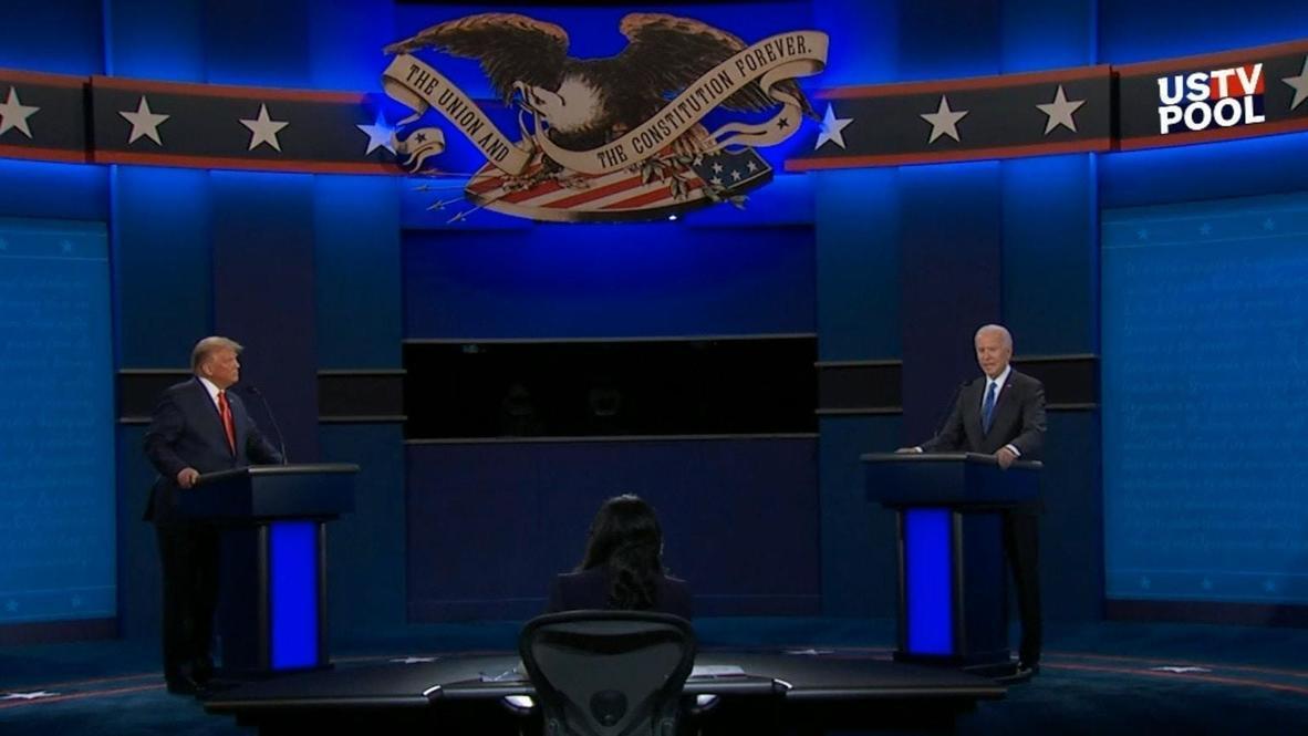 USA: Anyone responsible for so many deaths 'should not remain' as president - Biden at final debate