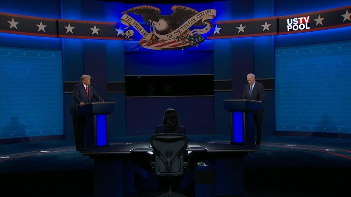 USA: Biden calls healthcare 'a right' as Trump vows to protect private insurance