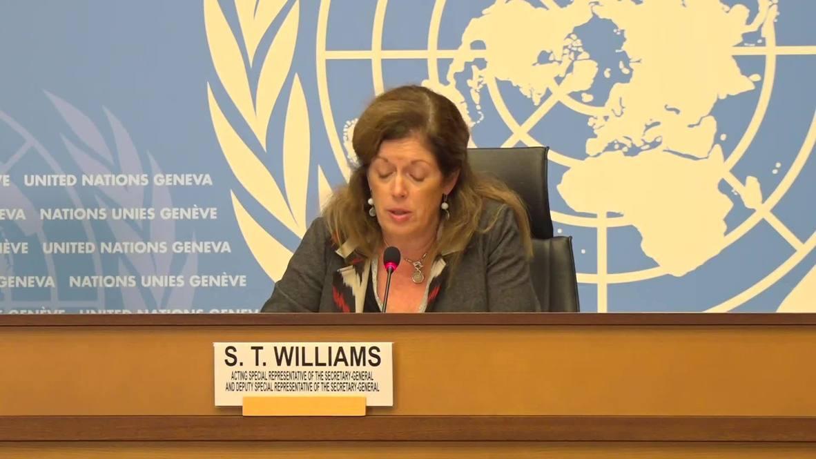 سويسرا: الأمم المتحدة تعلن توقيع الأطراف المتحاربة في ليبيا على اتفاق لوقف دائم لإطلاق النار في جميع أنحاء البلاد