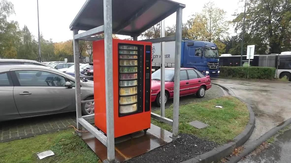 Alemania: Instalan una máquina expendedora de papel higiénico ante el regreso de las compras de pánico por covid-19