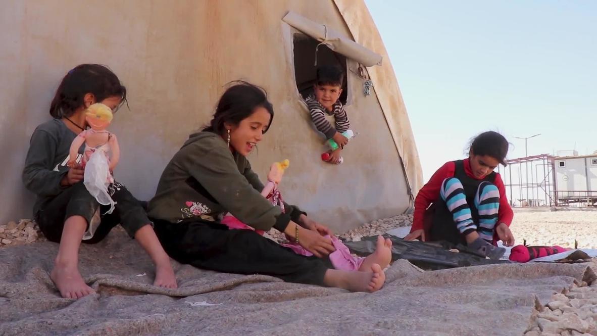 سوريا: نازحو مدينة رأس العين لا يزالون في مخيم للاجئين بعد عام من الهجوم التركي على مدينتهم