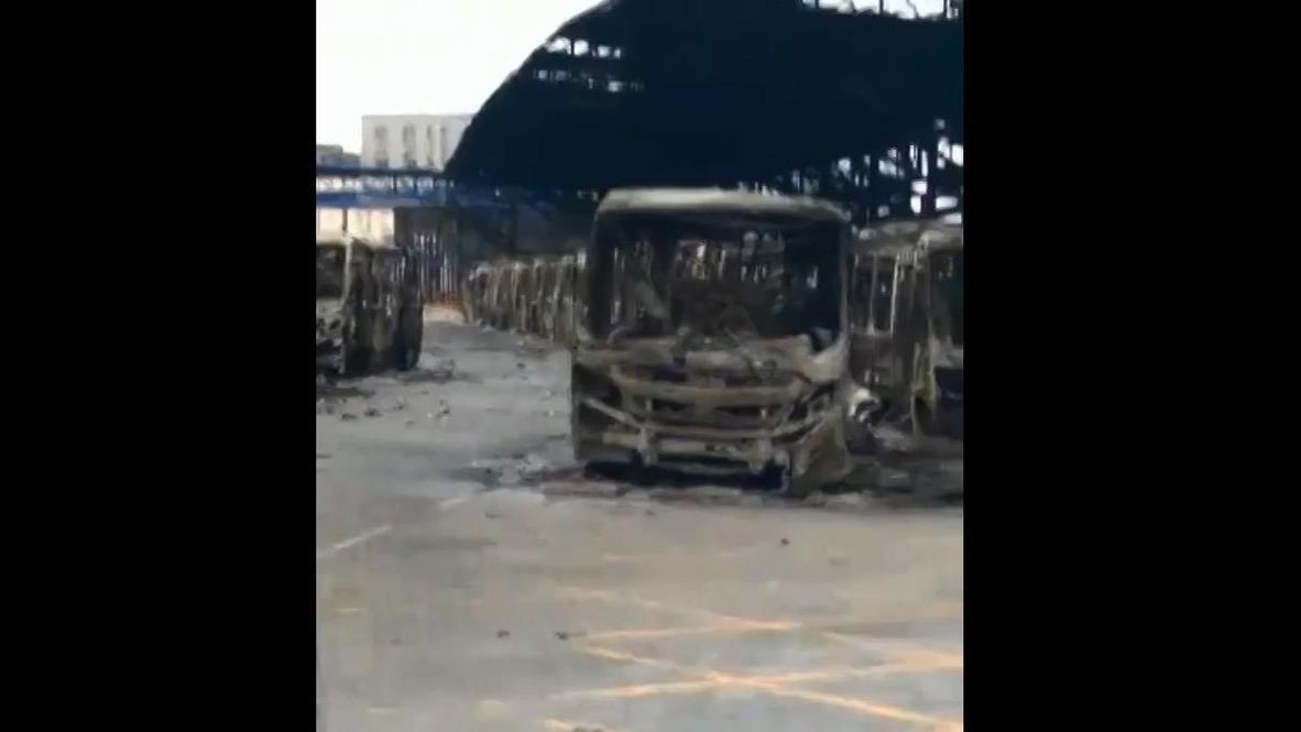 نيجيريا: تدمير محطة حافلات في لاغوس وسط استمرار الاحتجاجات المناهضة لعنف الشرطة