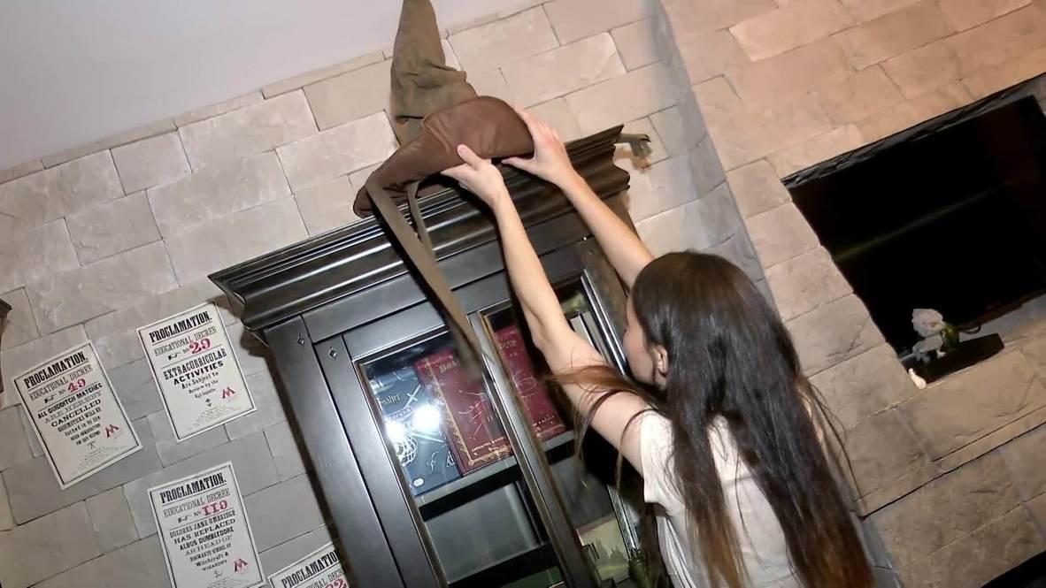 Pottermanía para siempre: Joven rusa convierte su habitación en Hogwarts
