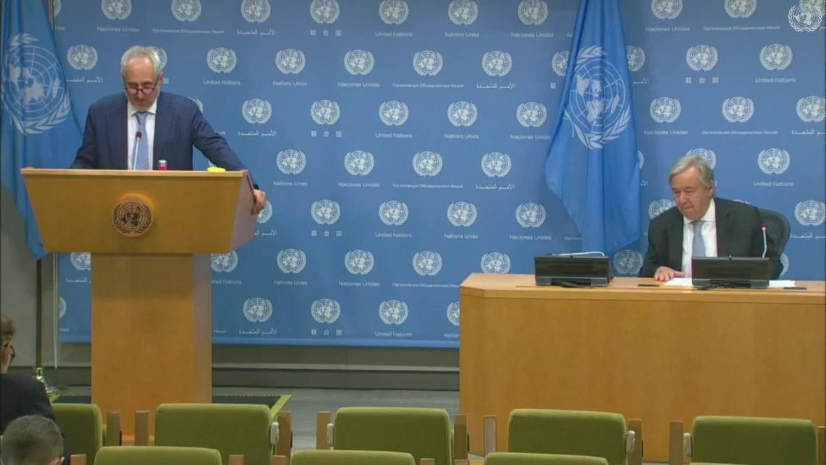 UN: 'A fundamental step toward peace and stability' - Guterres announces ceasefire in Libya