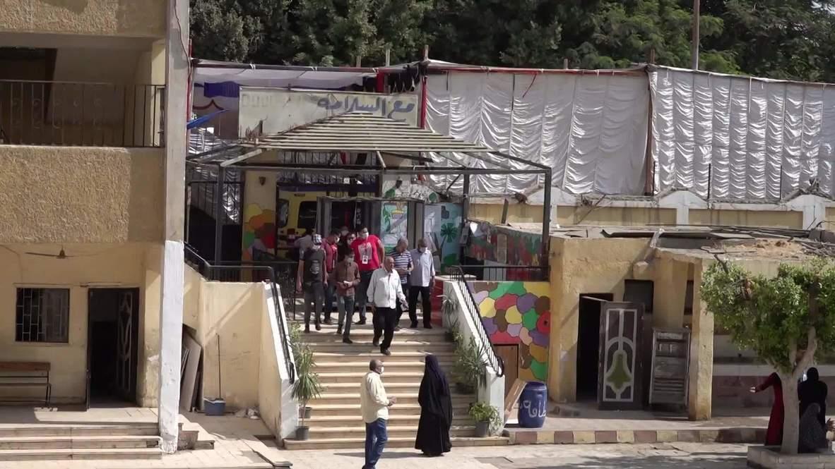 مصر: سكان الجيزة يصوتون في الجولة الأولى من الانتخابات البرلمانية