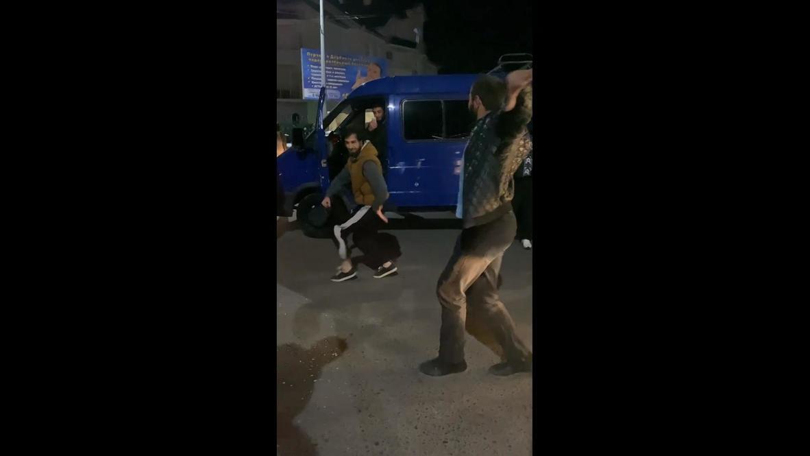 Россия: В Дербенте победу Хабиба отпраздновали танцами