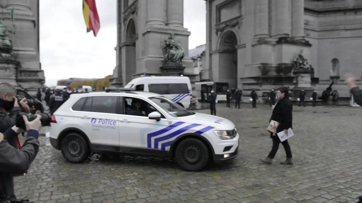 Bélgica: Policía detiene a manifestantes contra las restricciones por covid-19