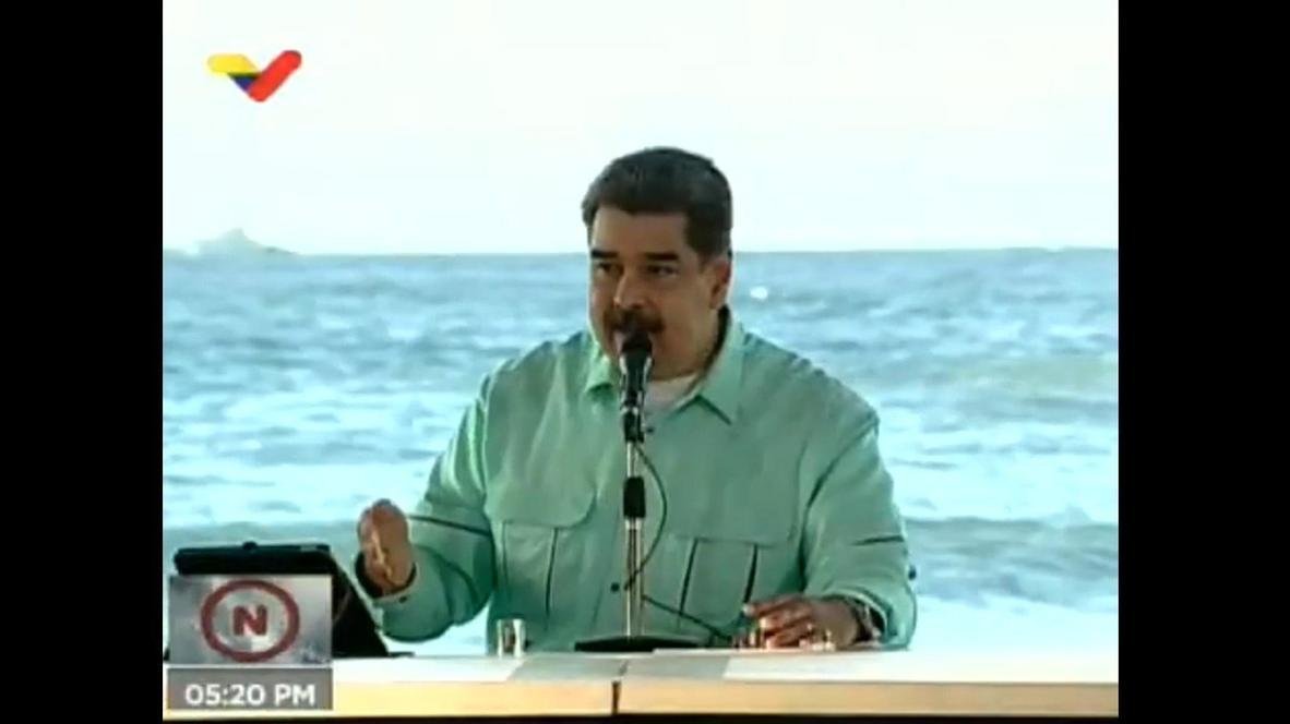"""Venezuela: Maduro anuncia el descubrimiento de """"una medicina que anula al 100% el coronavirus"""""""