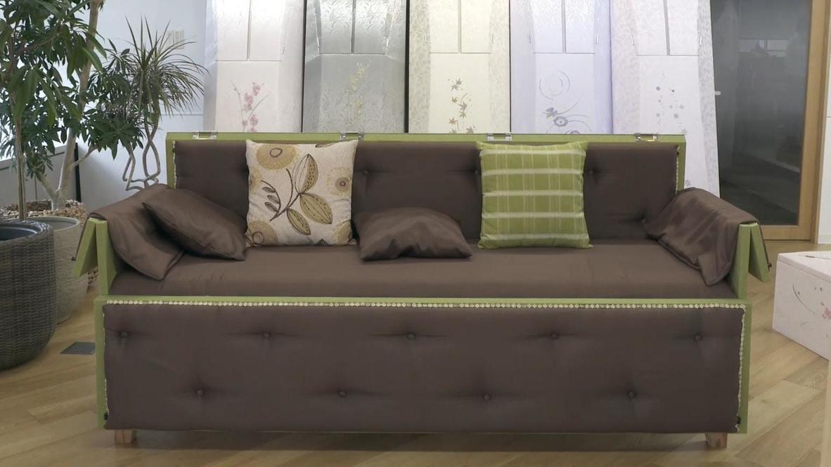 ¡Descanse en paz! Empresa japonesa desarrolla un sofá que se convierte en un ataúd