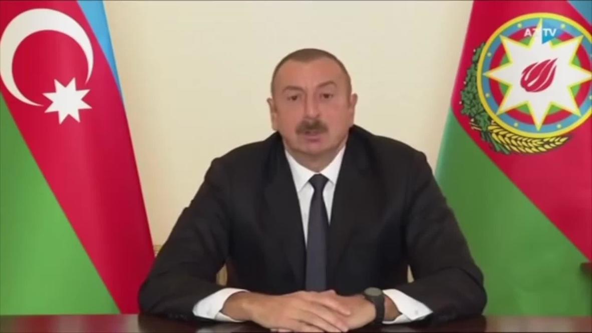 Azerbaiyán: El presidente Aliyev acusa al Grupo de Minsk de la OSCE de proteger a Armenia