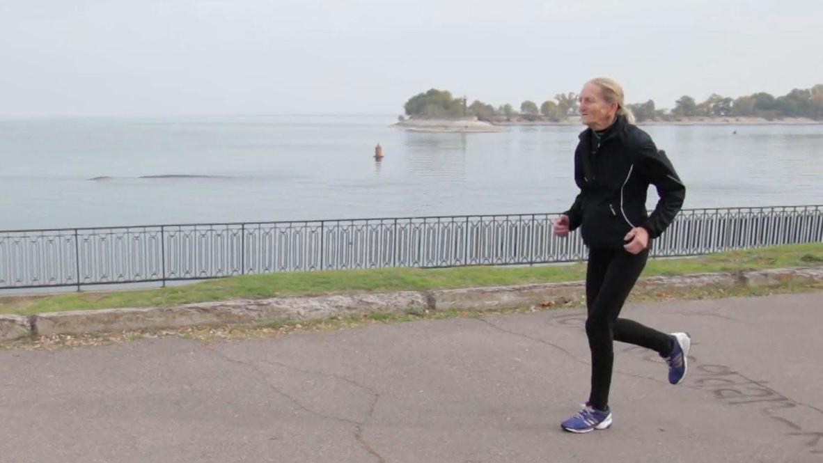 Команда молодости. 80-летняя украинка установила рекорд страны по бегу