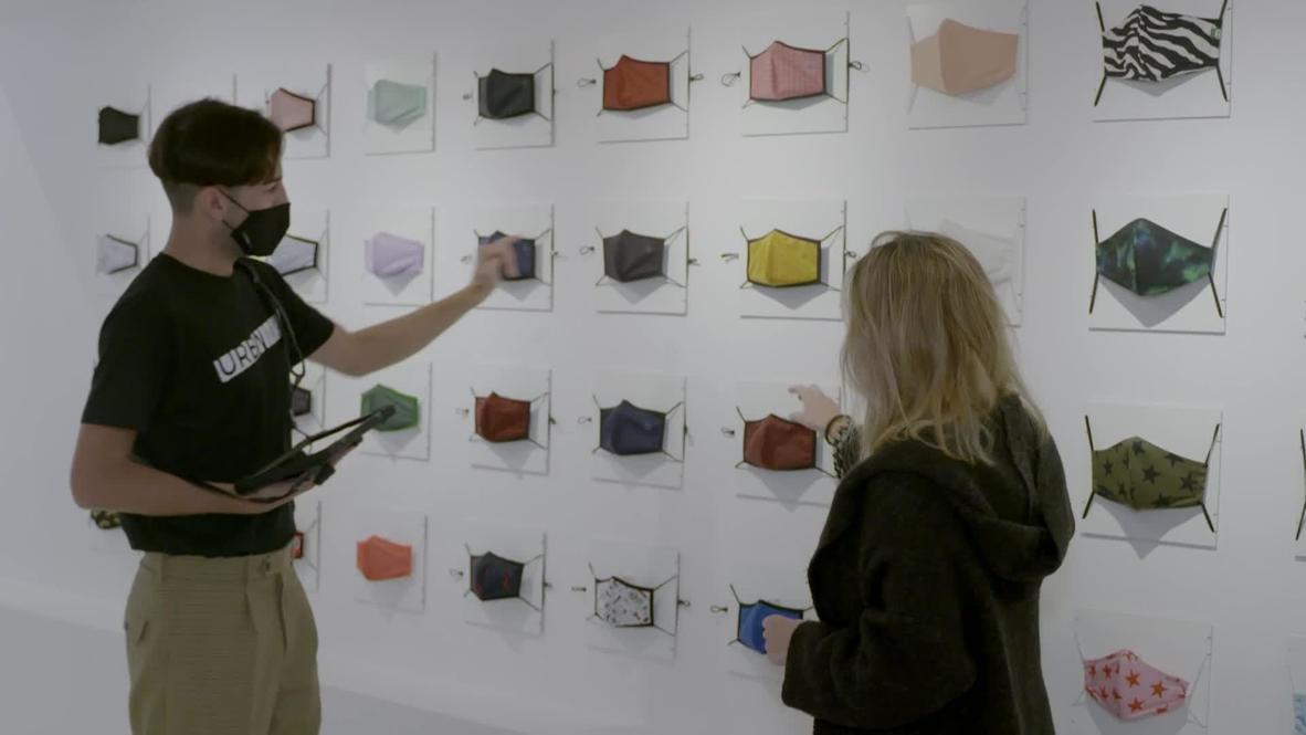 إسبانيا: افتتاح أول متجر متخصص ببيع الأقنعة في برشلونة