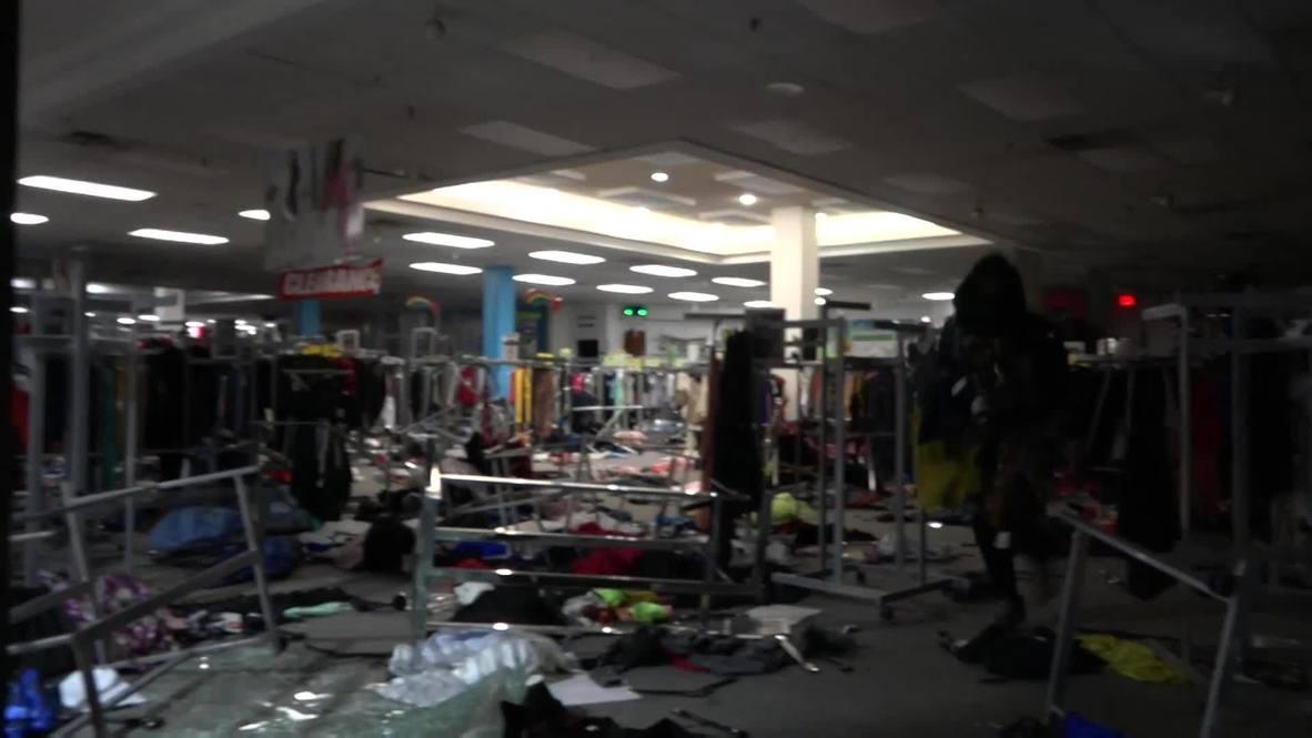 الولايات المتحدة الأمريكية: نهب مركز تجاري مع تحول احتجاجات فيلادلفيا إلى فوضى