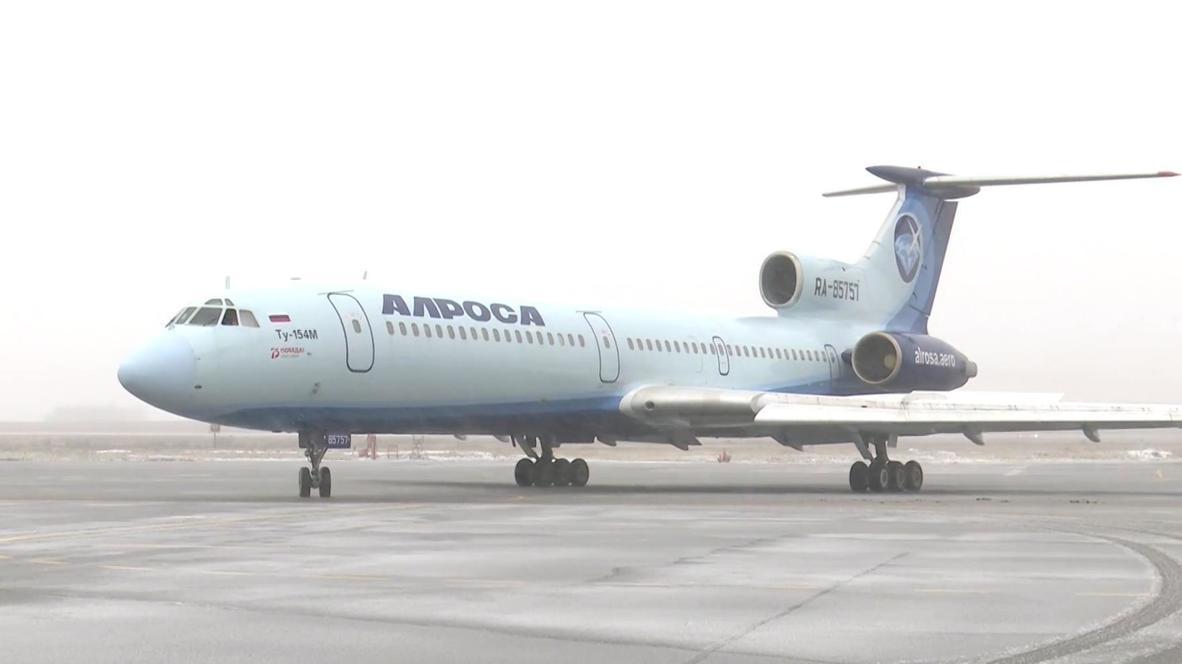 Россия: Последний российский гражданский самолет Ту-154 совершил свой заключительный рейс