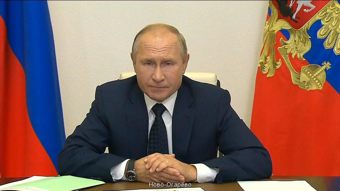 """Россия: """"Нужно посмотреть на месте, что происходит"""" - Путин поручил направить медкомиссии в регионы"""