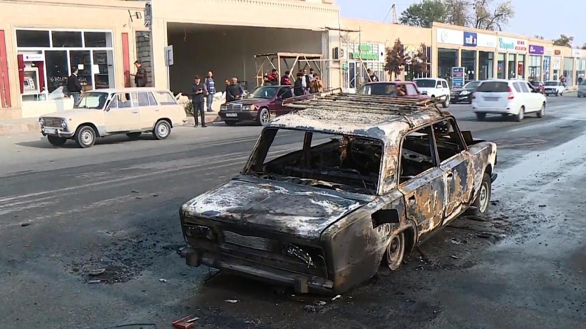 Azerbaijan: At least 21 dead and dozens injured as shelling hits Barda
