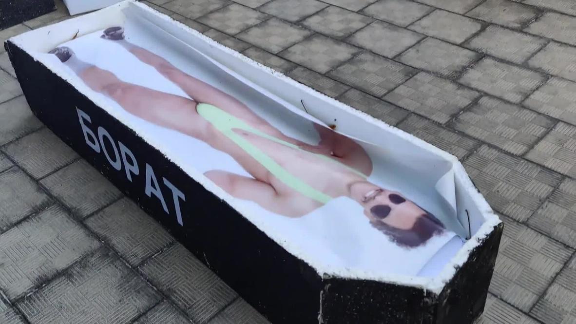 Kazakhstan: 'Sacha, drop dead!' - Almaty locals demand ban of Borat 2