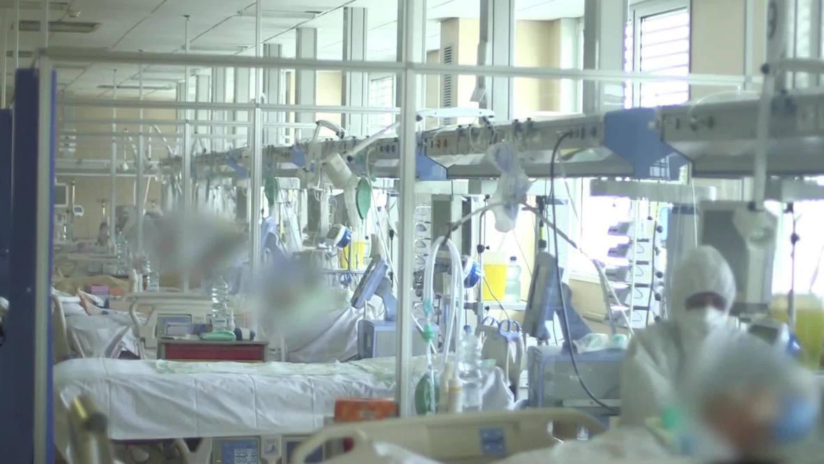 Italy: COVID-19 doctors raise alarm over hospital capacity amid second wave