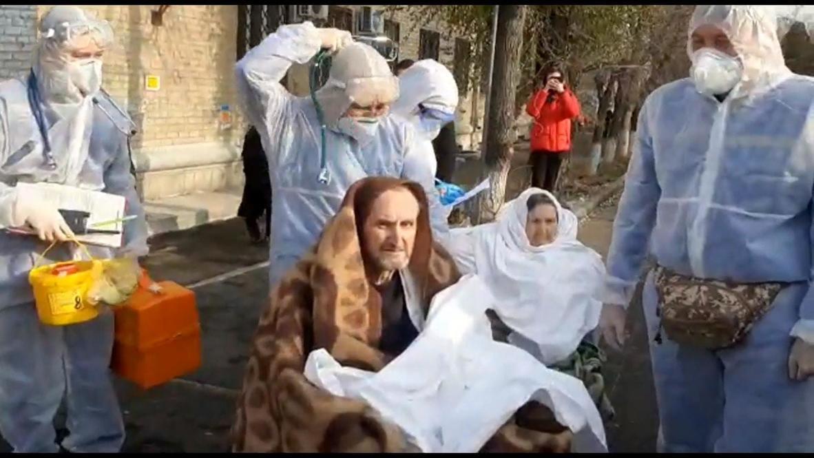 Россия: Пациентов эвакуируют из больницы Челябинска после взрыва кислородной будки