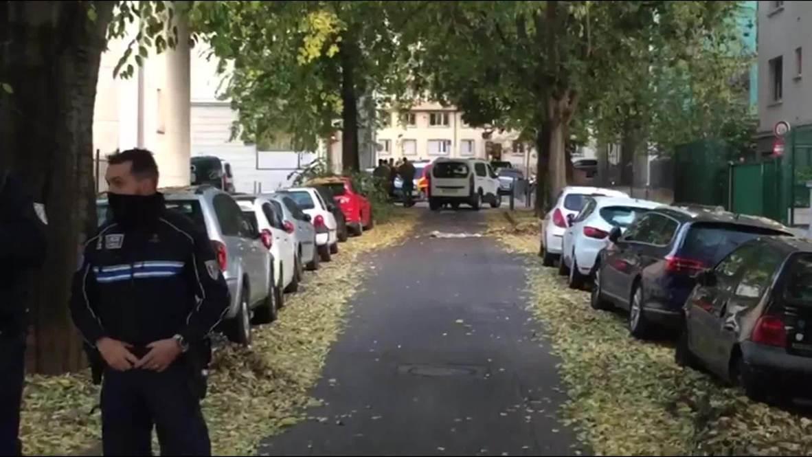 فرنسا: الشرطة تطوق الطرقات بعد إطلاق النار على قس في ليون
