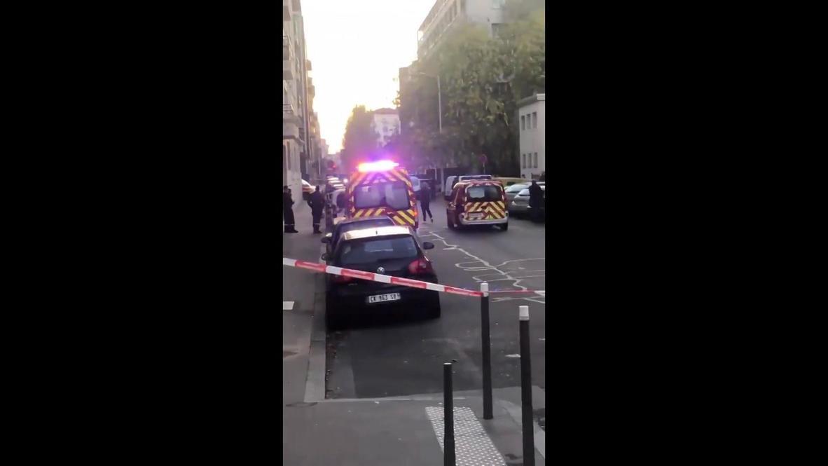 Francia: Presencia policial desplegada en el lugar del tiroteo en Lyon