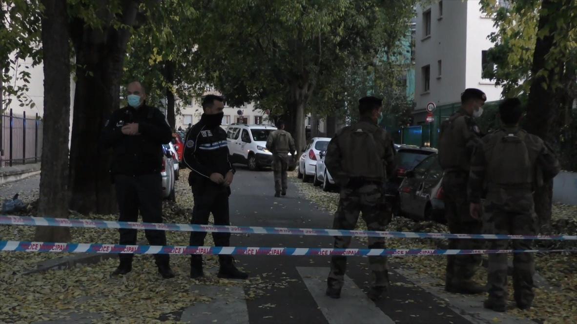 """Франция: """"Это в Лионе, что же будет дальше?"""" – свидетели стрельбы у храма рассказали о случившемся"""