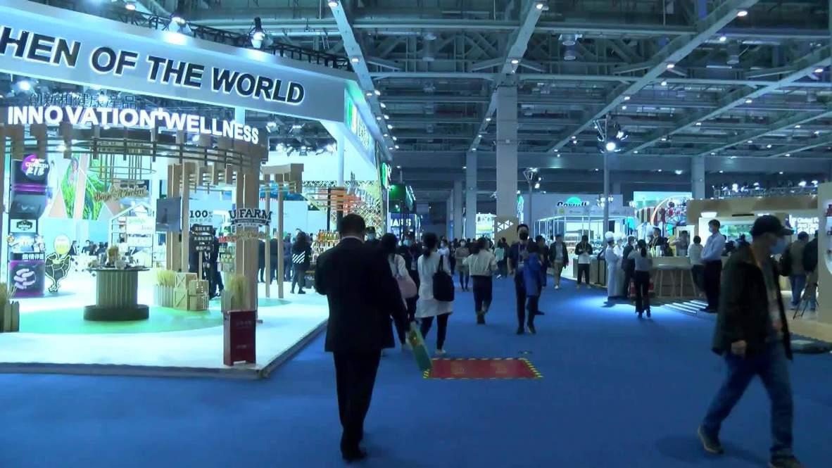 China: Exposición Internacional de Importaciones se realiza en medio de la pandemia de covid-19