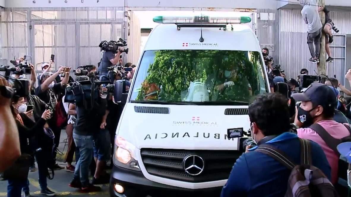 Argentina: Football legend Maradona discharged from hospital following brain surgery