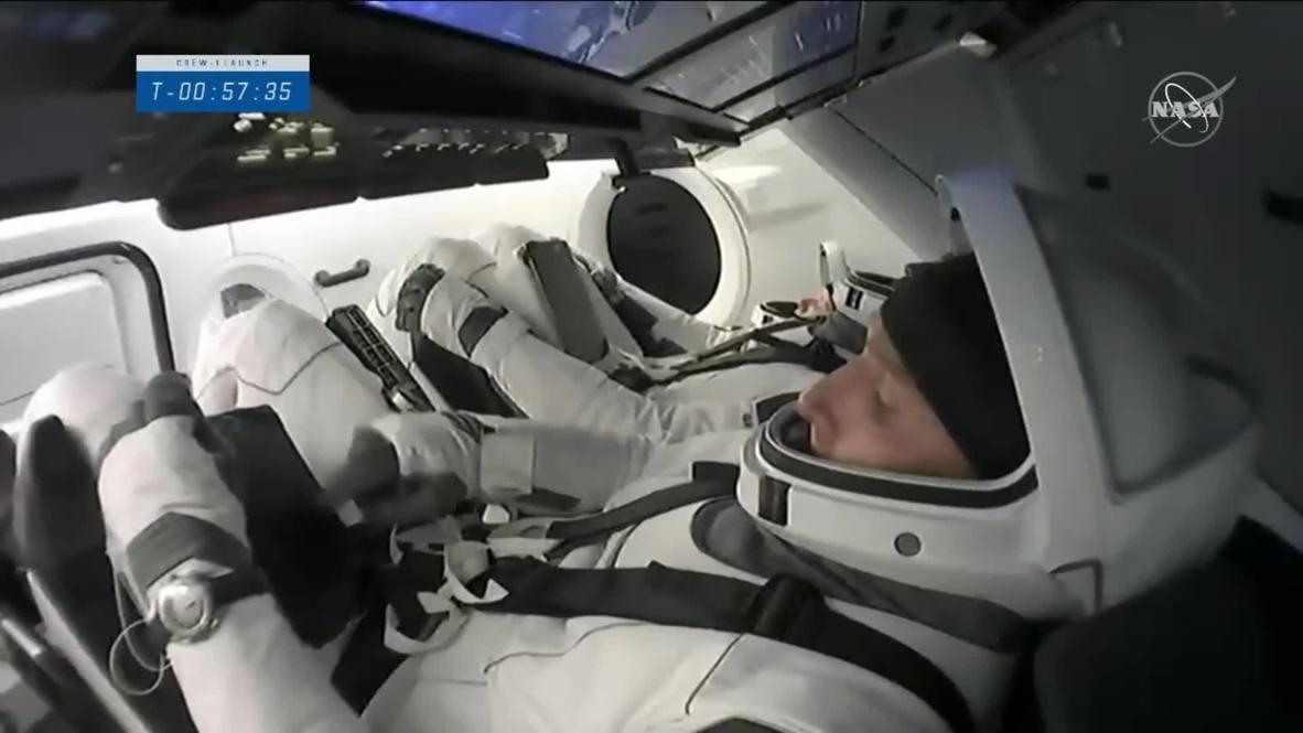 EE.UU.: El cohete SpaceX lleva a cuatro astronautas a la Estación Espacial Internacional