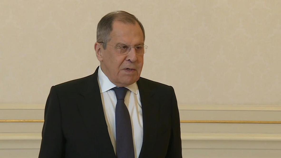 Azerbaijan: Lavrov discusses Nagorno-Karabakh with Aliev in Baku