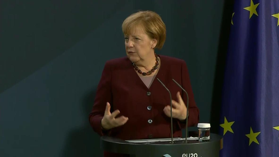 """Alemania: Negociaciones de la UE sobre la vacuna contra el covid-19 van """"bastante avanzadas"""" - Merkel"""