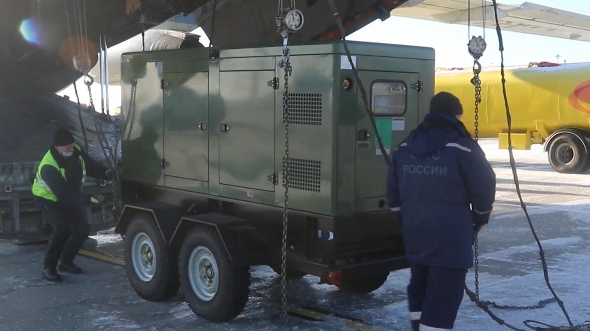 Россия: МЧС направило во Владивосток дизель-генераторы для борьбы с последствиями стихии