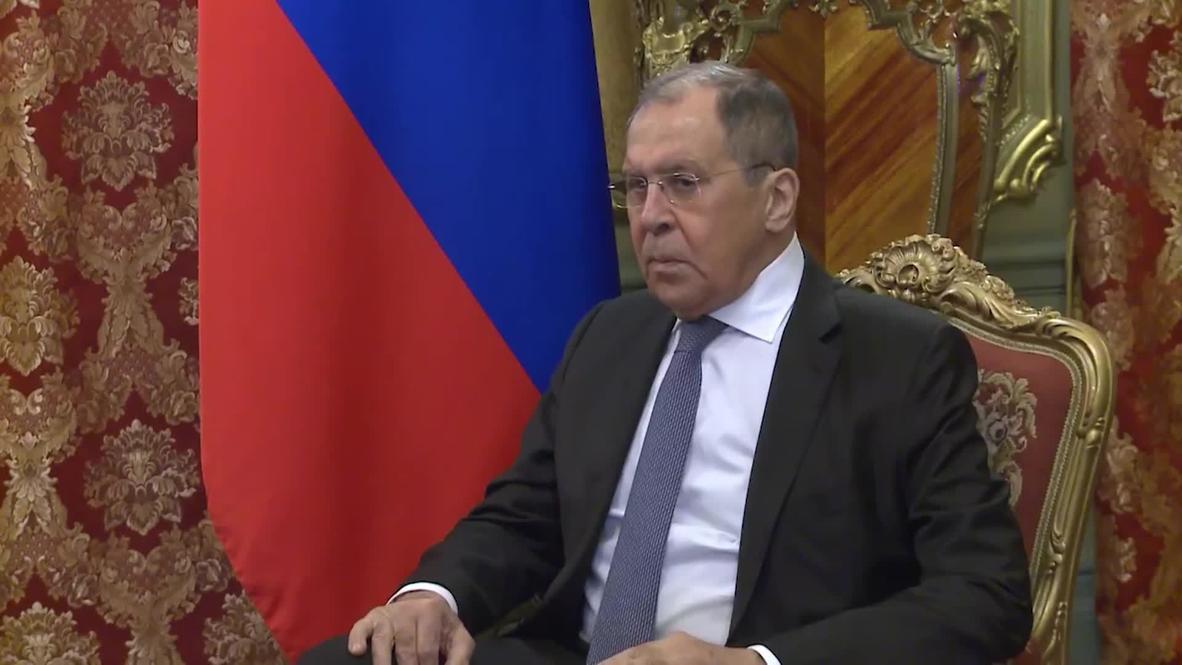 """روسيا: لافروف يشيد بالوضع """"الإيجابي"""" في ليبيا بعد وقف إطلاق النار"""