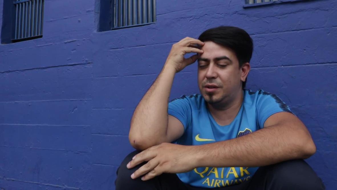 Argentina: El barrio de La Boca llora la muerte de Maradona entre el dolor y la incredulidad