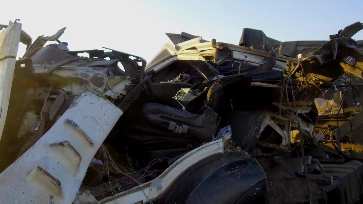 Brasil: Al menos 41 muertos tras chocar un autobús y un camión en autopista de Sao Paulo