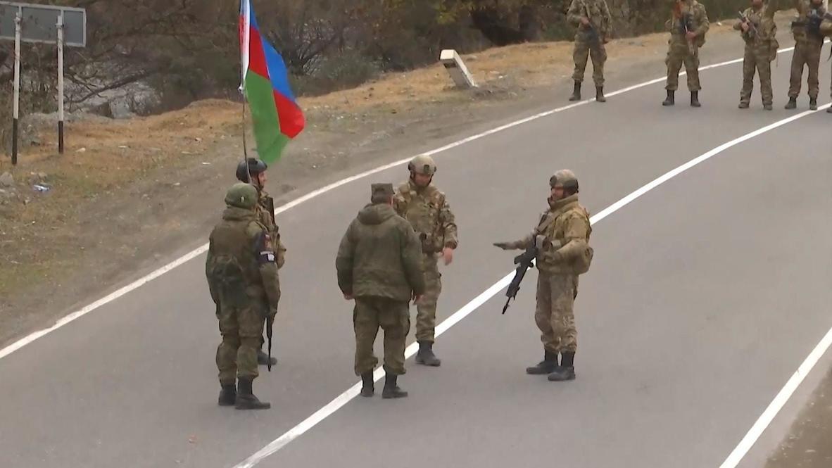 Nagorno-Karabakh: Russian peacekeepers oversee transfer of Kalbajar district to Azerbaijan